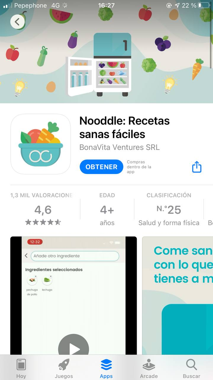 Nooddle App strategy ASO